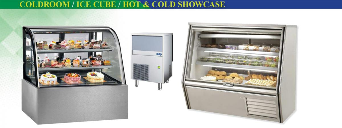 Coldroom-ice cube-Hot and Cold Showcase
