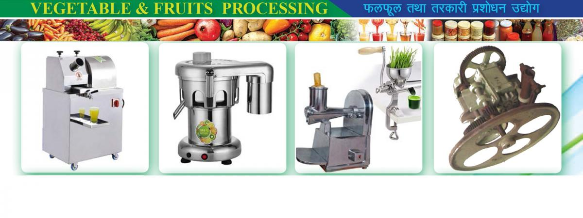 Vegetable & Fruits Processing